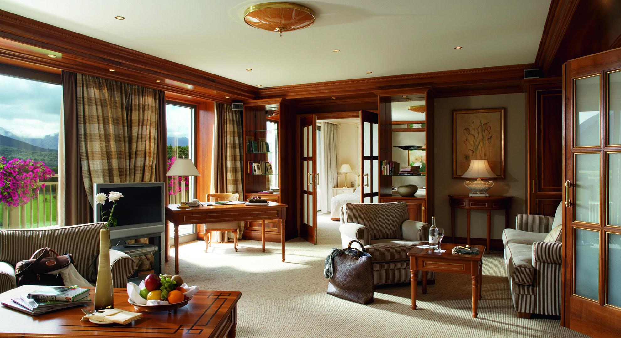 5 Star Hotel Accommodation Kerry Killarney Hotels In Ireland Dunloe Castle Co